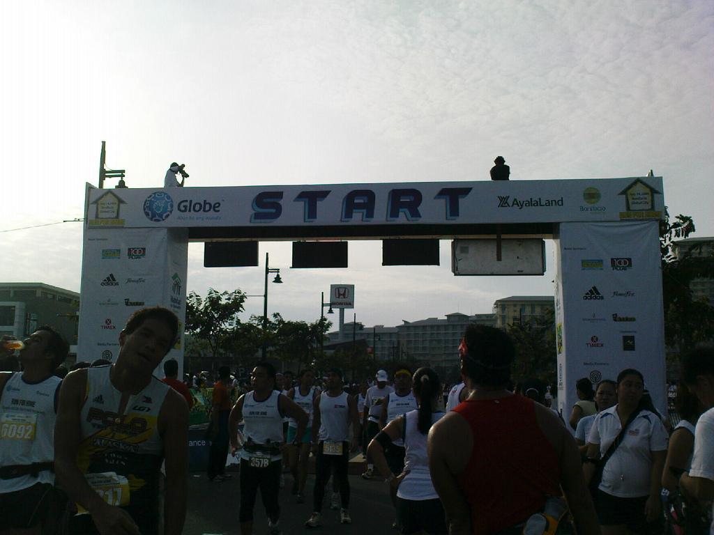 Run for Home - start