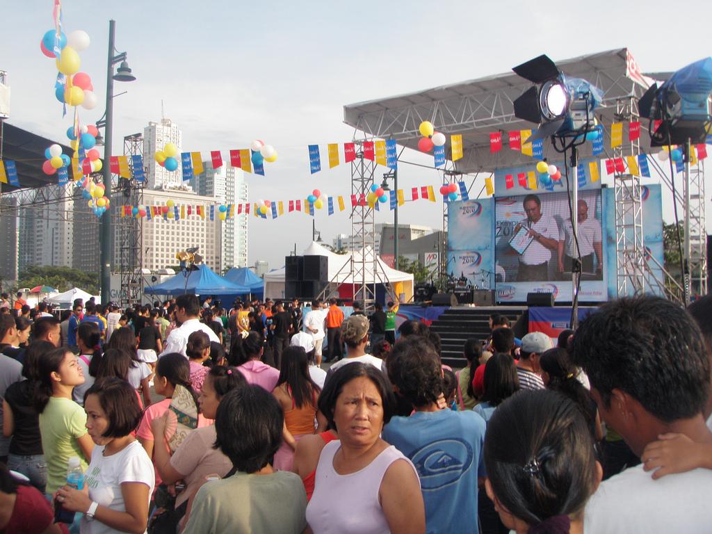 Tatakbo Ka Ba: Is this a political rally?