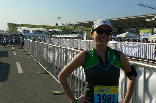 Running 10K at the Philippine International Marathon