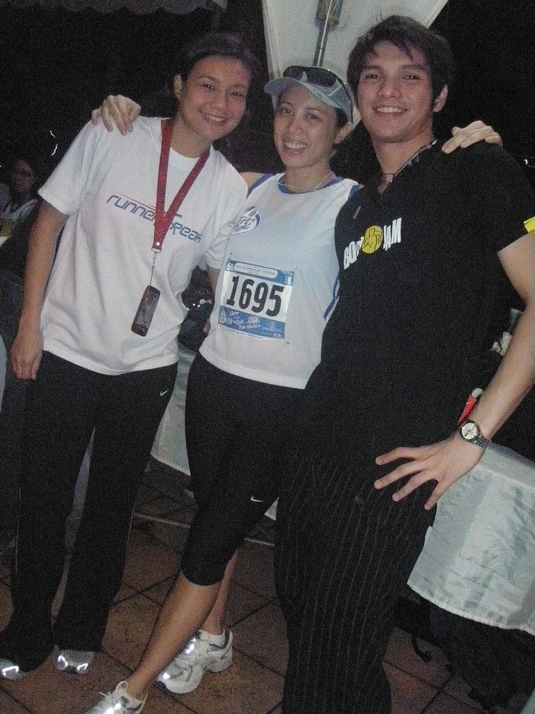 Fit n Right Run: the host and the warm-up