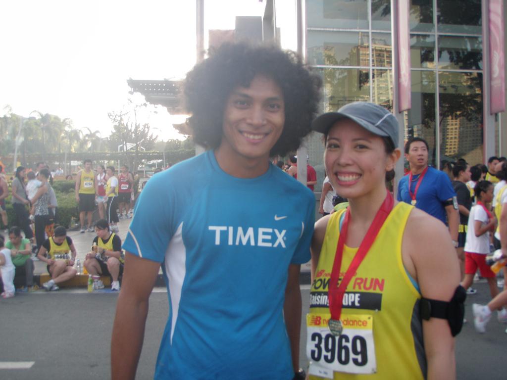 NB Power Run: with coach Rio
