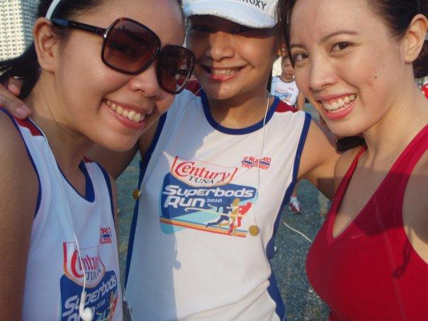 Century Superbods Run: with my 3K girls