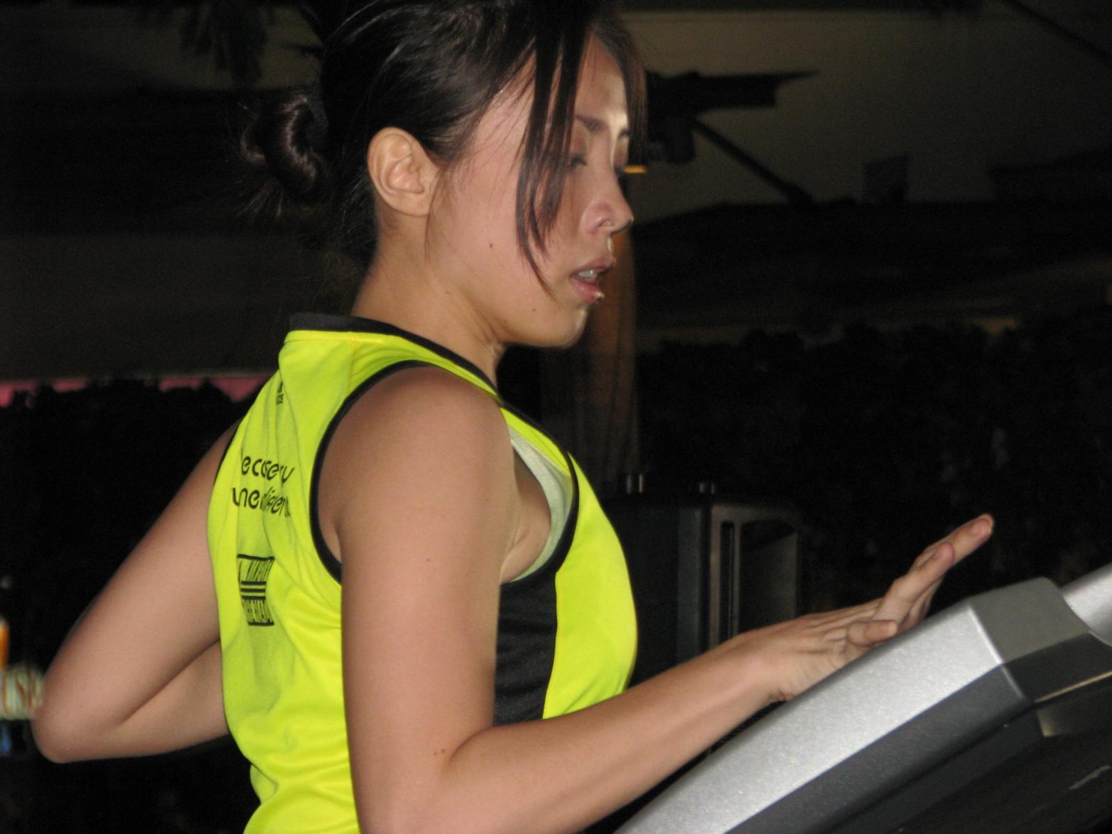 adidas miCoach Launch: Treadmill Challenge