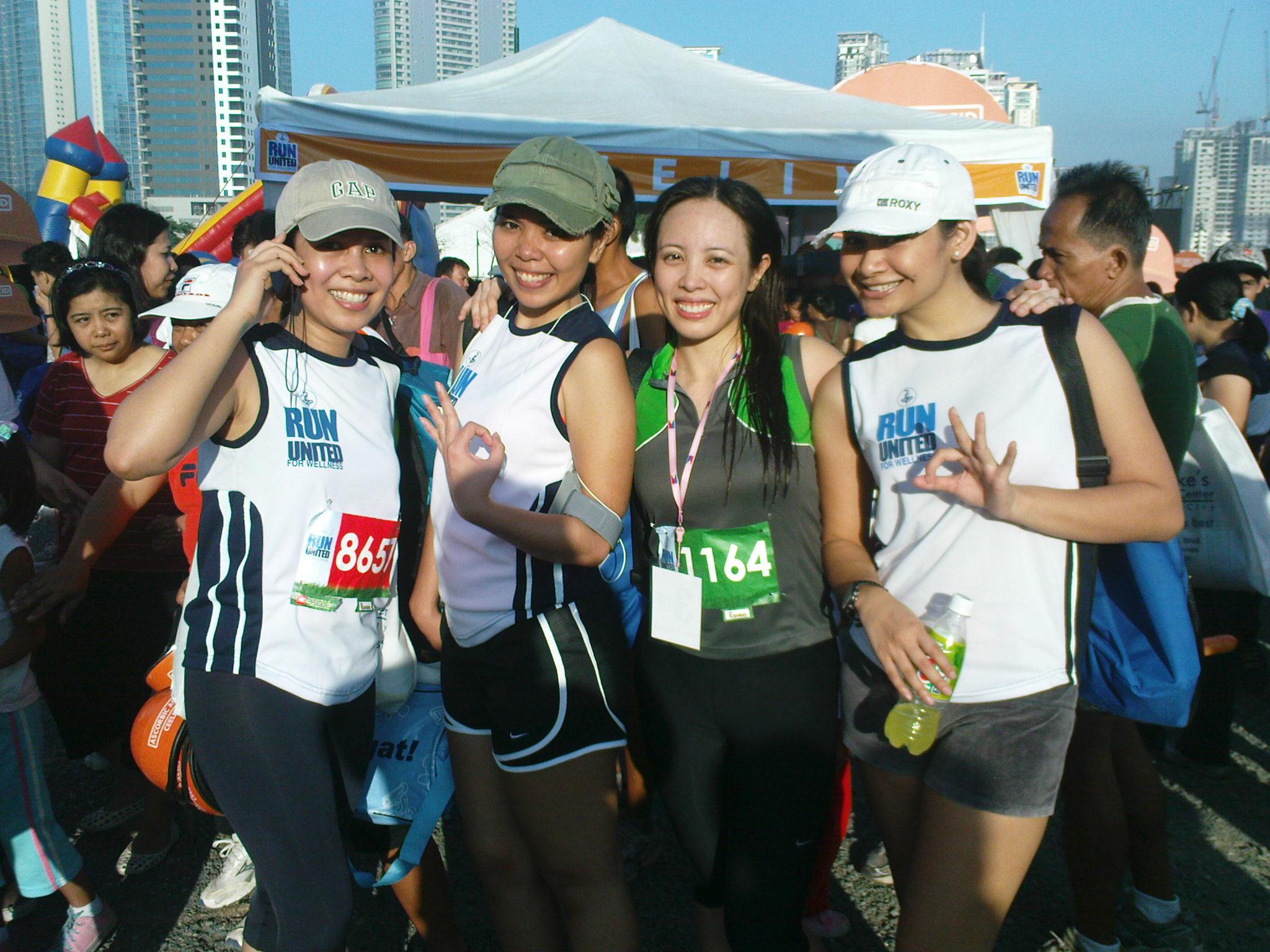 Unilab Run United: Finishers