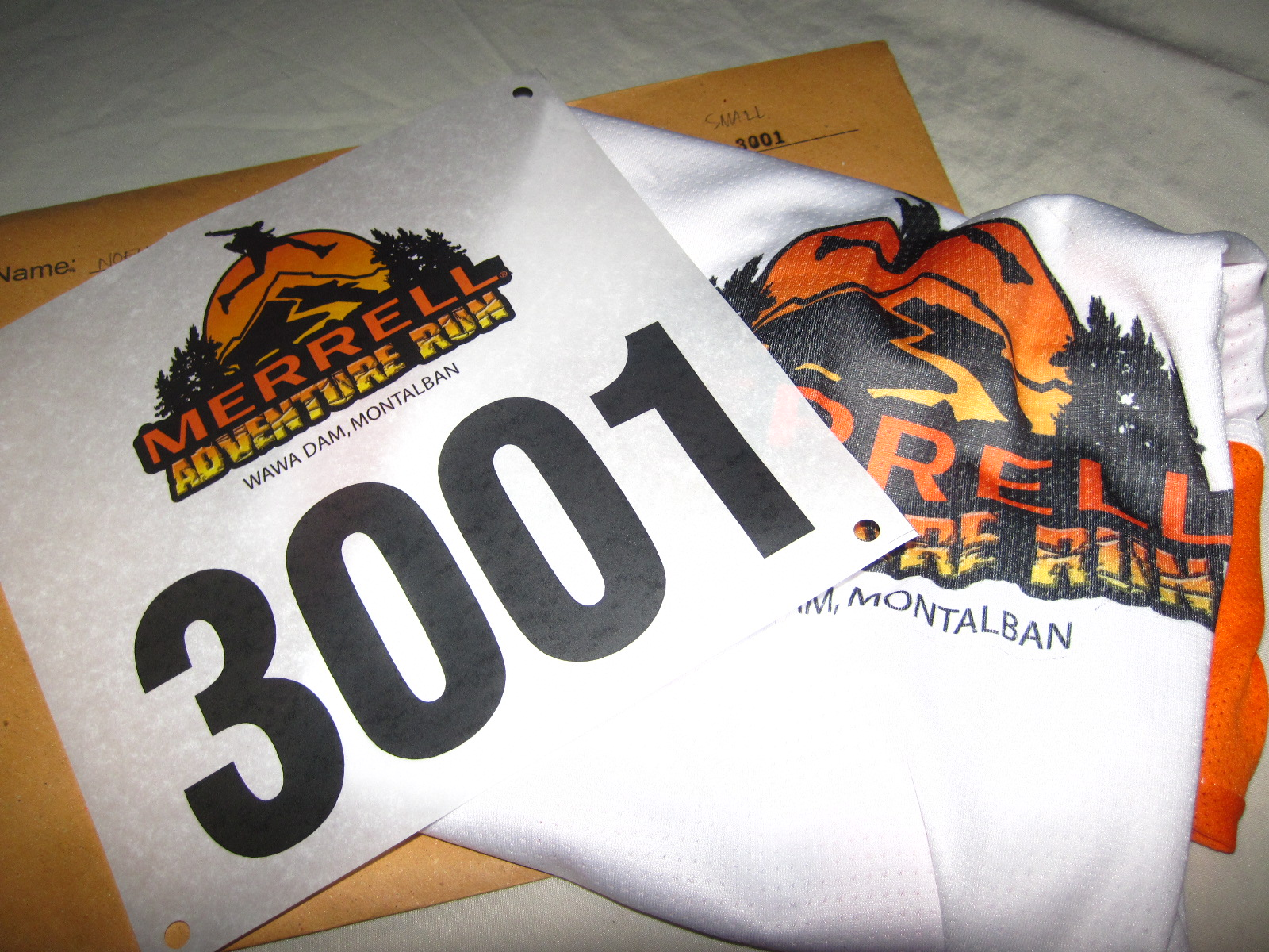 Merrell Adventure Run: Race Kit