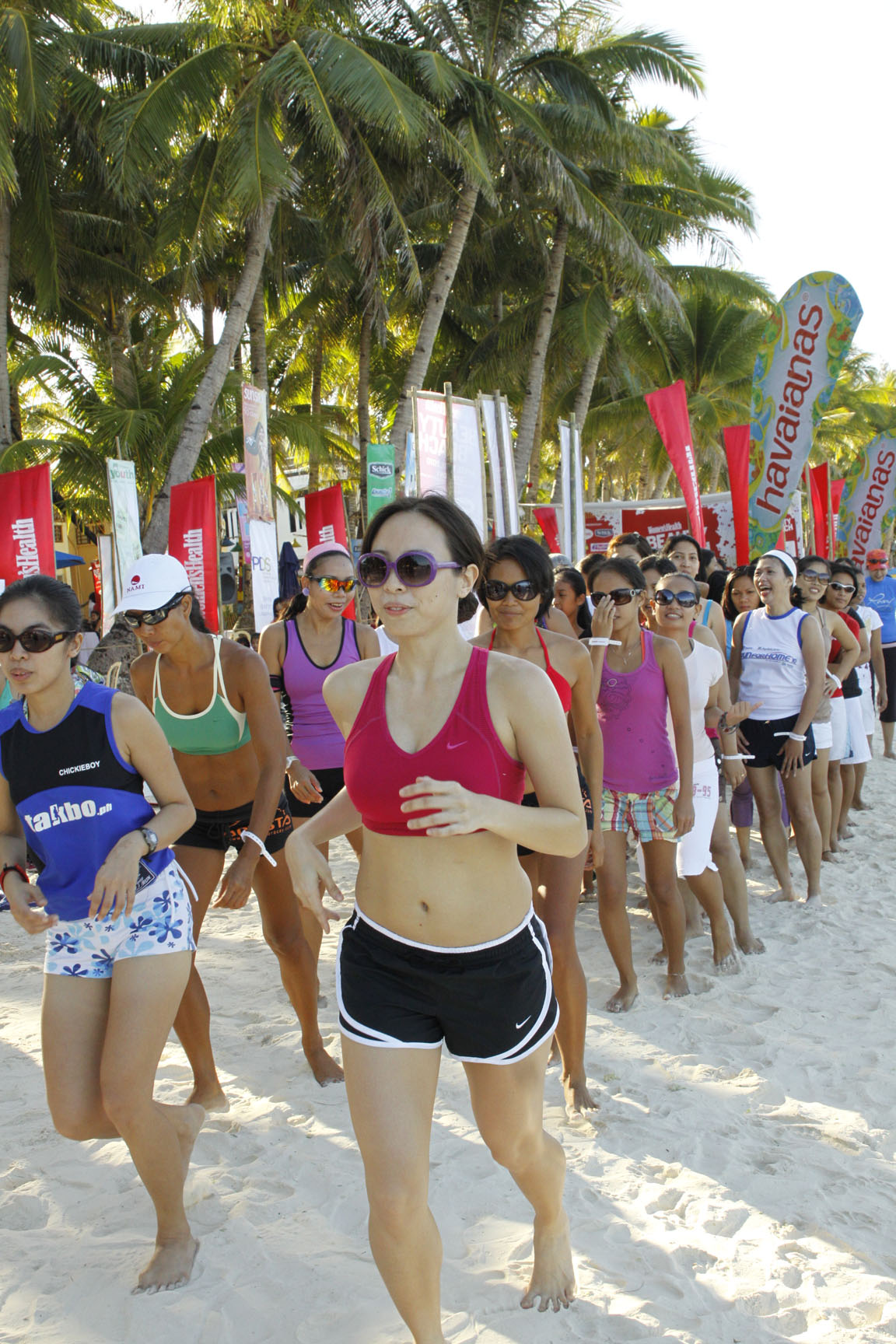 Beauty and the Beach: Barefoot Beach Run
