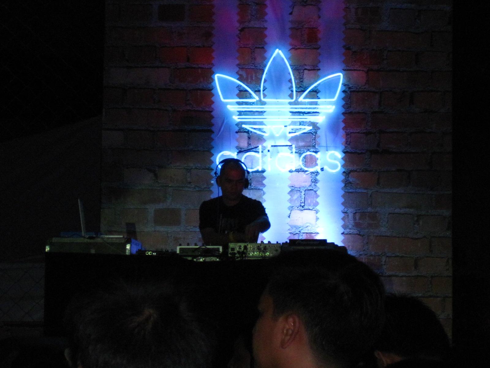 Adidas Originals Street Party: Hey DJ