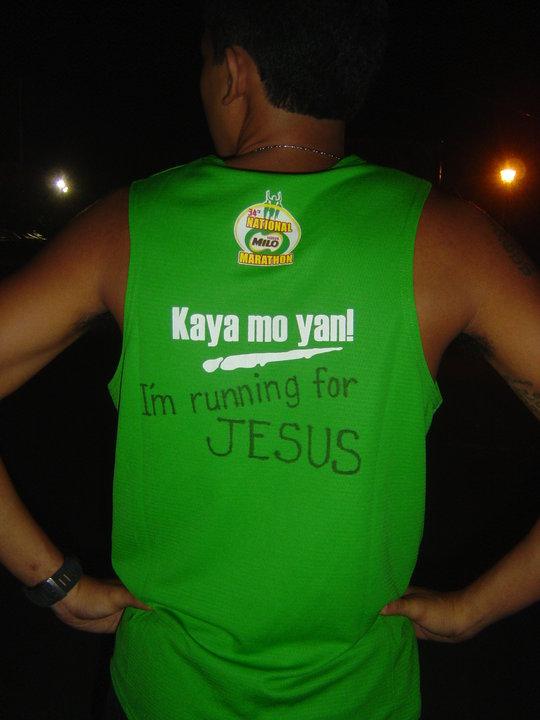 """34th Milo Marathon: """"I'm Running for Jesus"""""""