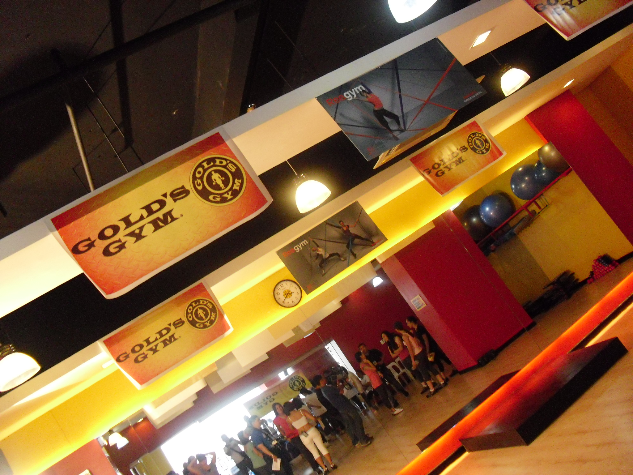 Reebok Jukari launch: Gold's Gym