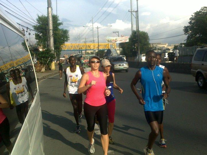 Running with Kenyans