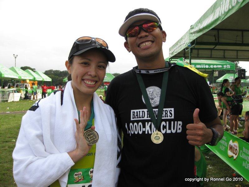 34th Milo Marathon Finals: Bemedalled