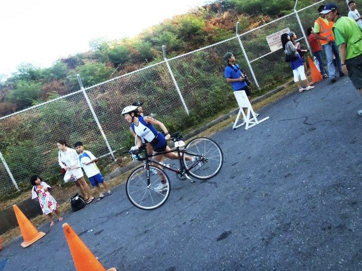Speedo NAGT Subic: Second off the Bike