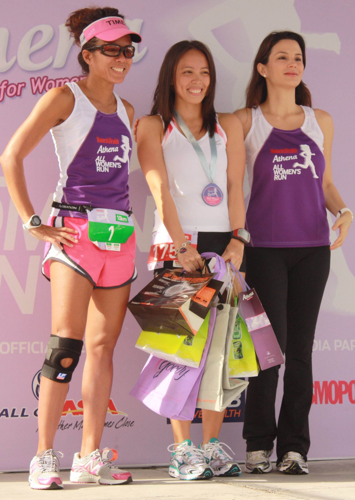 Athena All-Women's Run: With Lara and Bianca