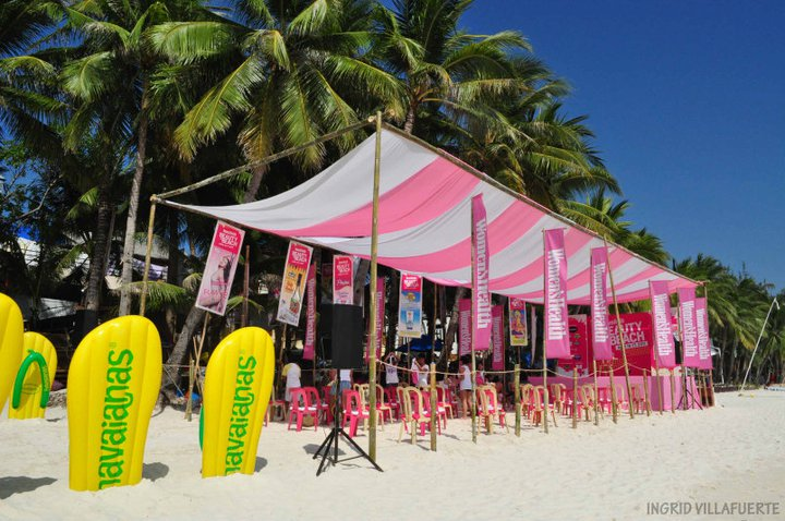 Beauty & the Beach: Pink Explosion