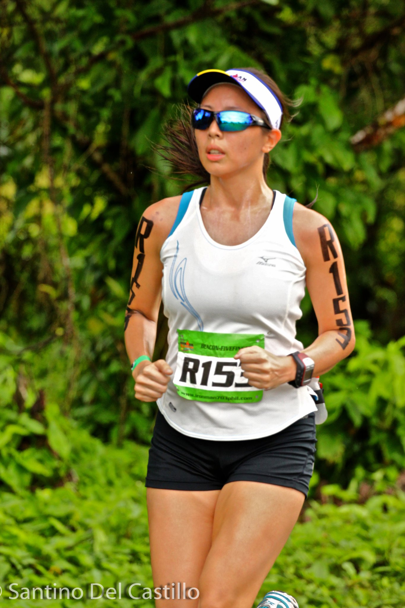 2011 Ironman 70.3: Ink-stained Run