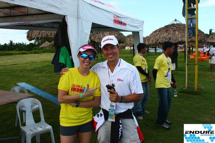 2011 Ironman 70.3: w/ Fred Uytengsu