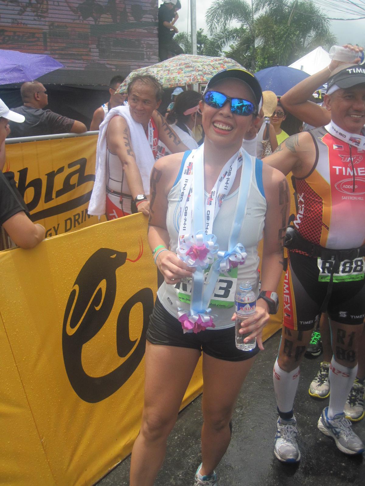 2011 Ironman 70.3: Relay Finisher!