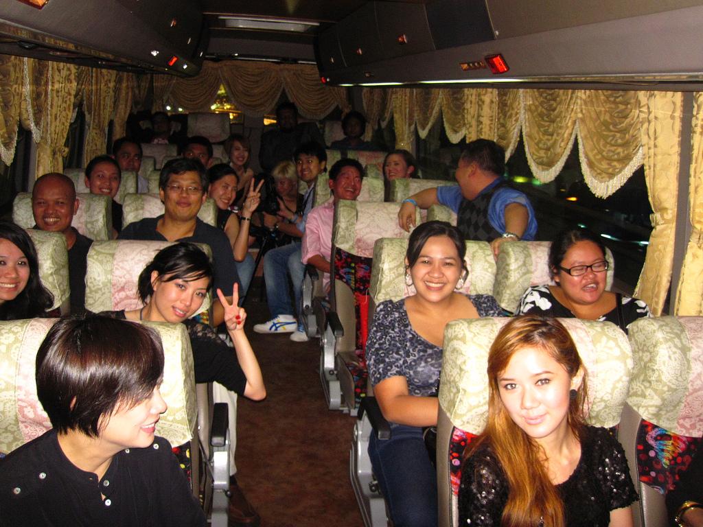Malaysia: Night 2 Bus Ride