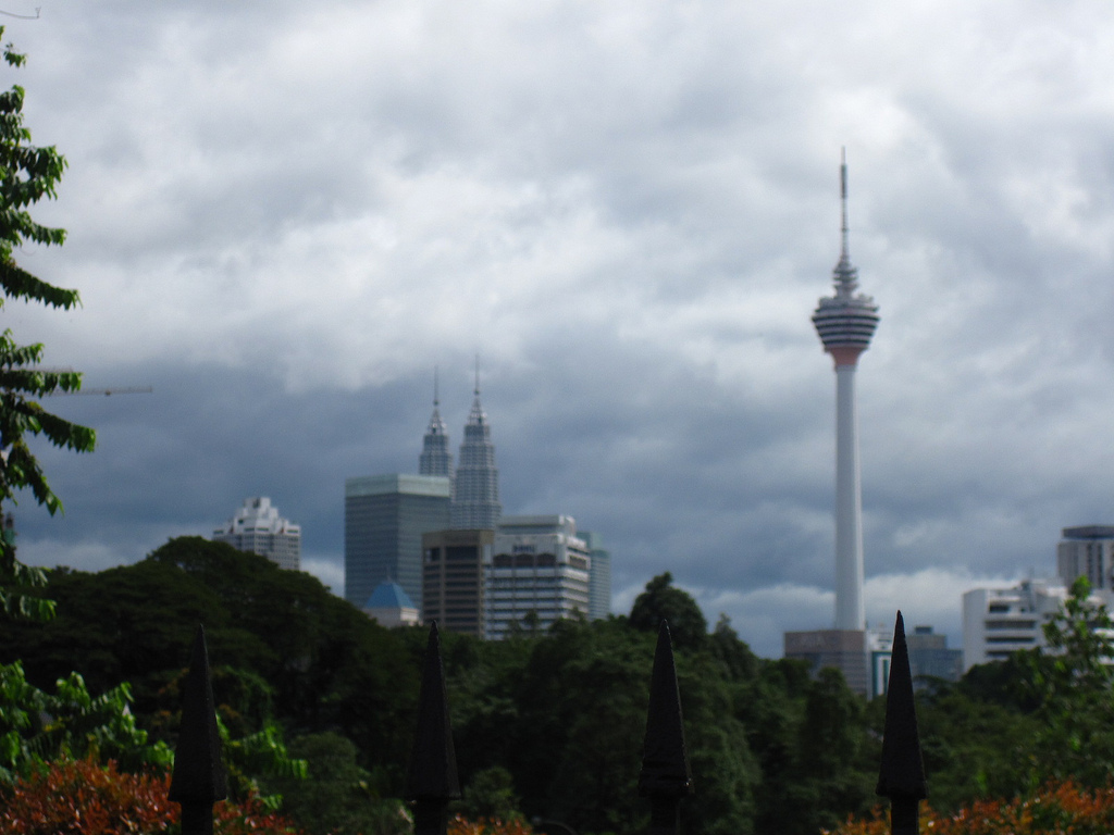 Malaysia: the towers