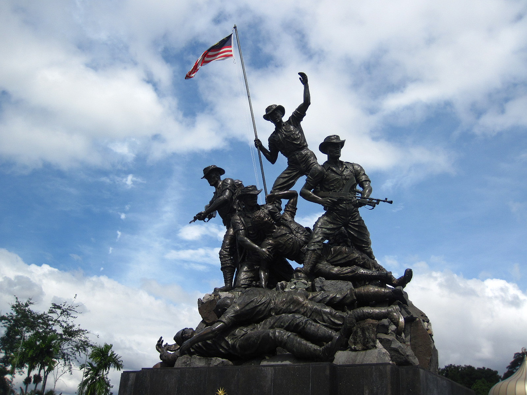 Malaysia: fallen heroes
