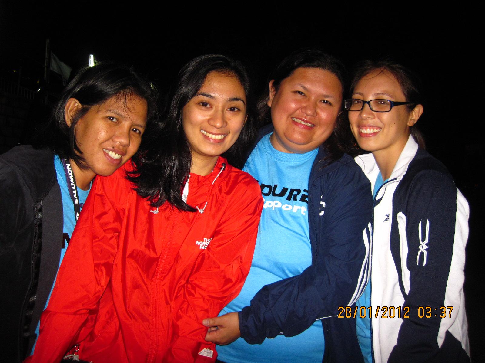 BDM 160: Carina, Tracy, Marga, Me