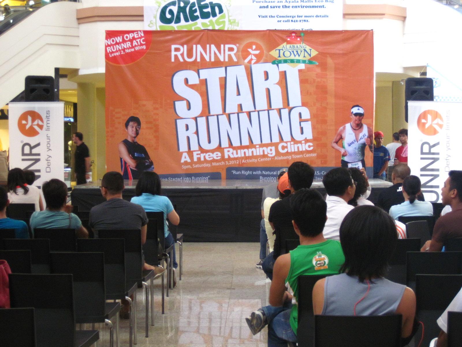 RUNNR ATC: Running Clinic