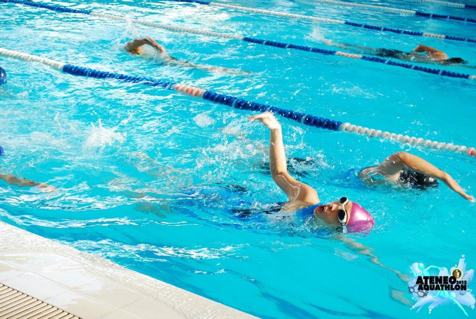 Ateneo Aquathlon 2012: Swim
