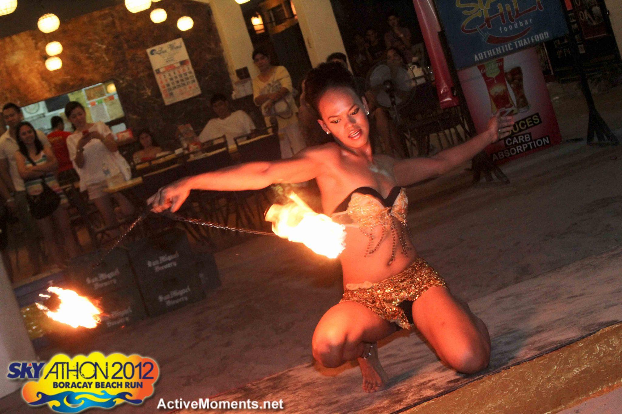 Skyathon 2012: Fire Dancer