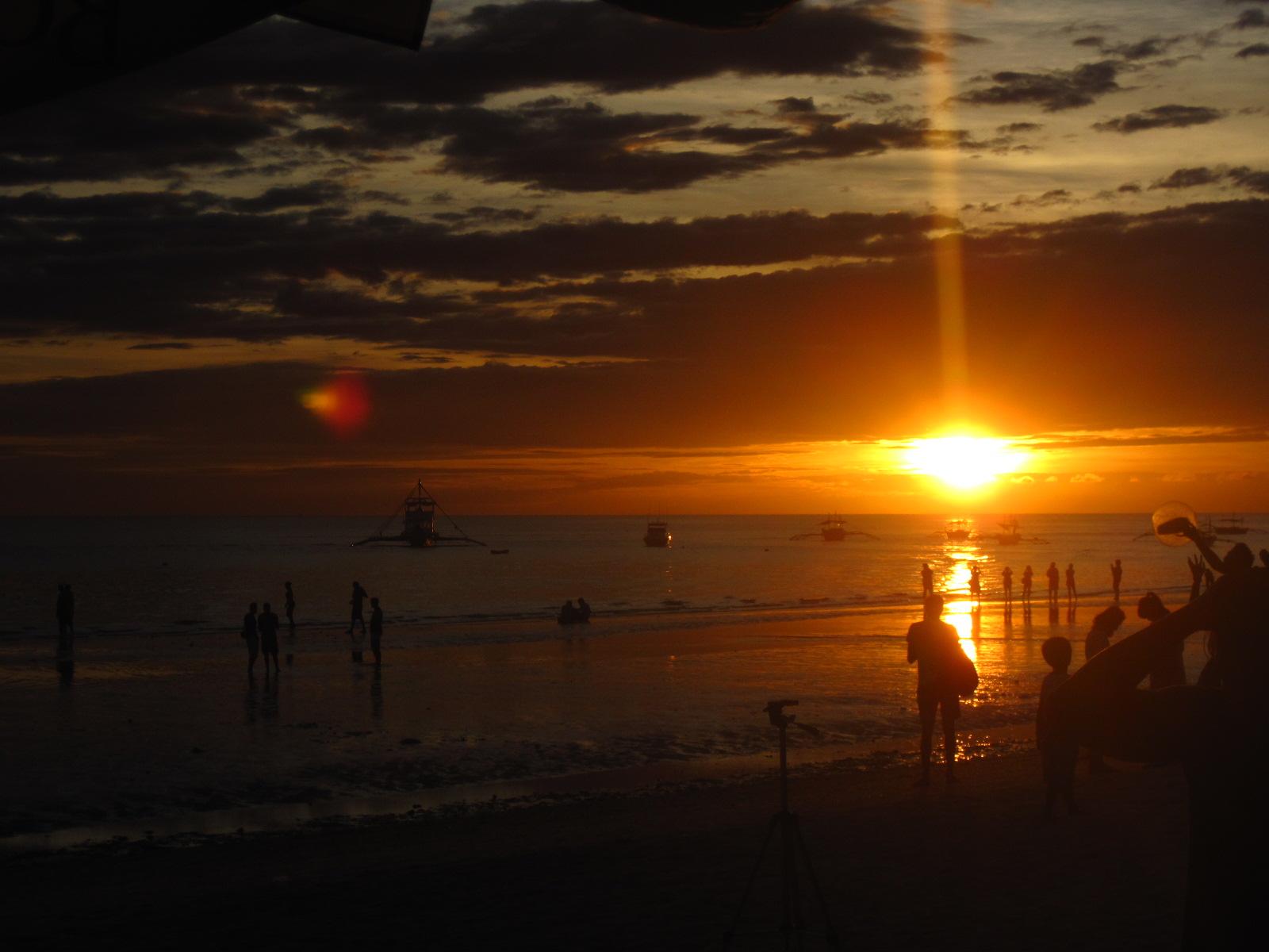 Skyathon 2012: Boracay sunset