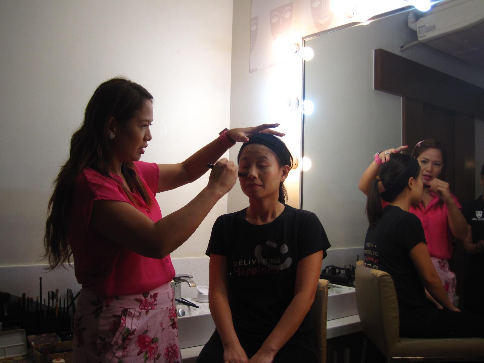 My Kikay Afternoon: Makeup at Kryolan