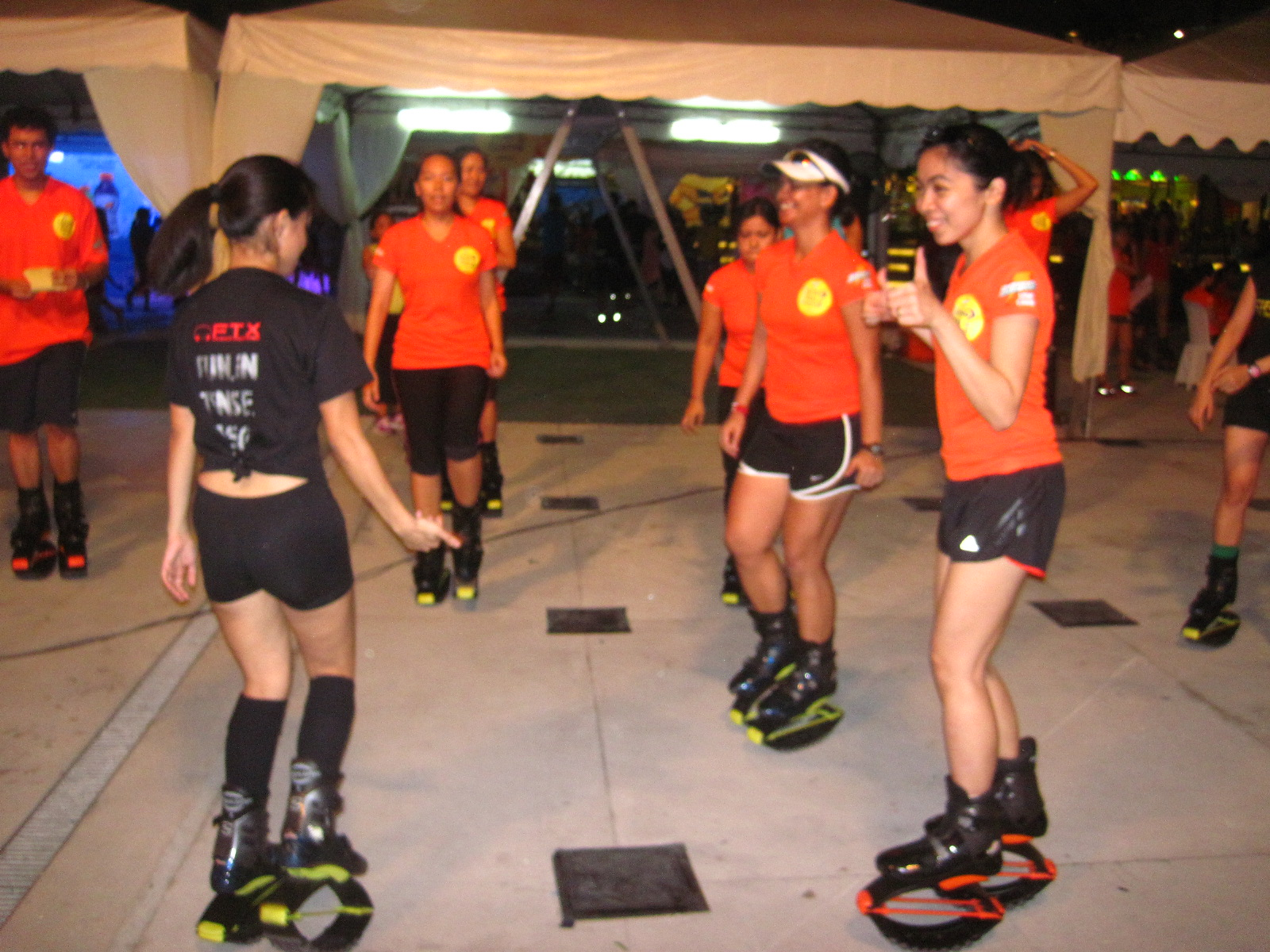 WH Are You Game?: Kangoo Shoes