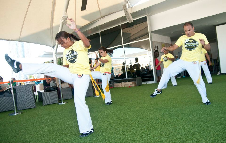 VFF Summer 2012: Capoeira with the VFF Speed model