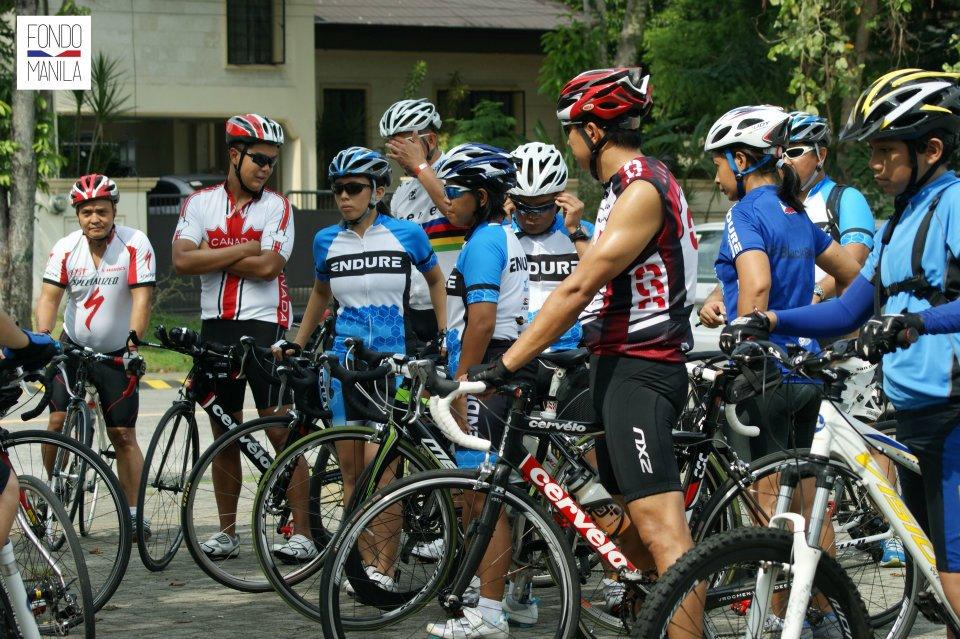 Fondo Manila Pose Cycling Clinic: Participants