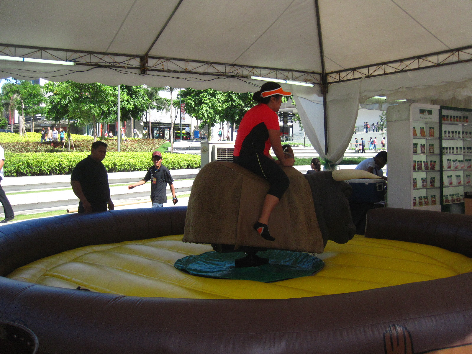 WH Are You Game?: Bull Riding