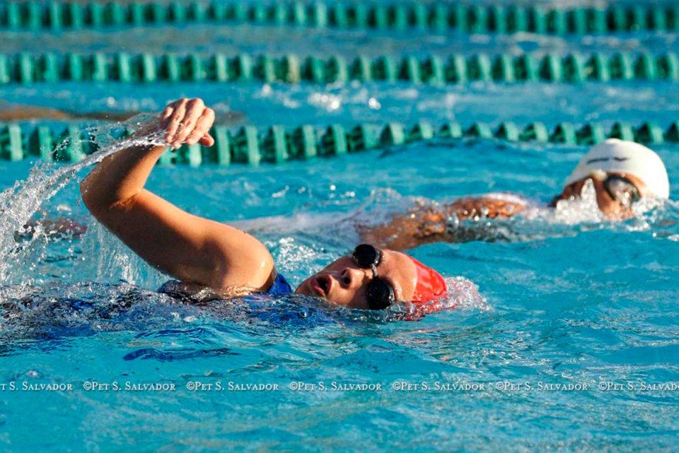 Animo Sprint Triathlon 2012: Swim
