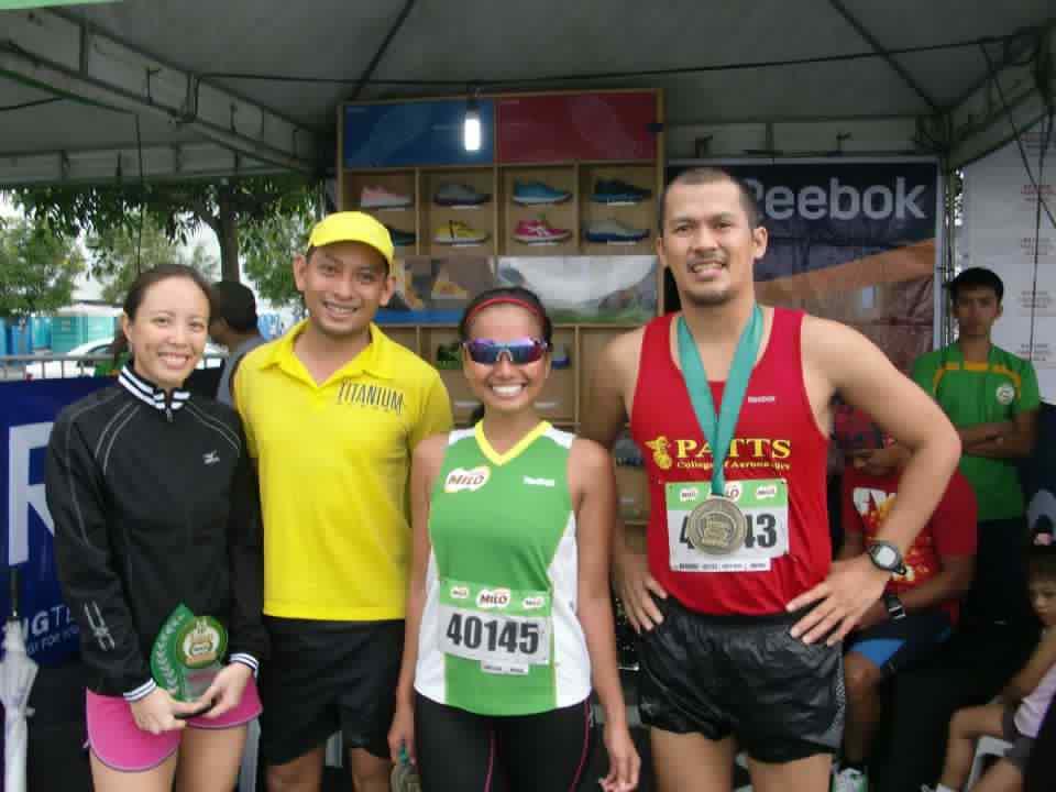 36th Milo Marathon: with Reebok marathoners