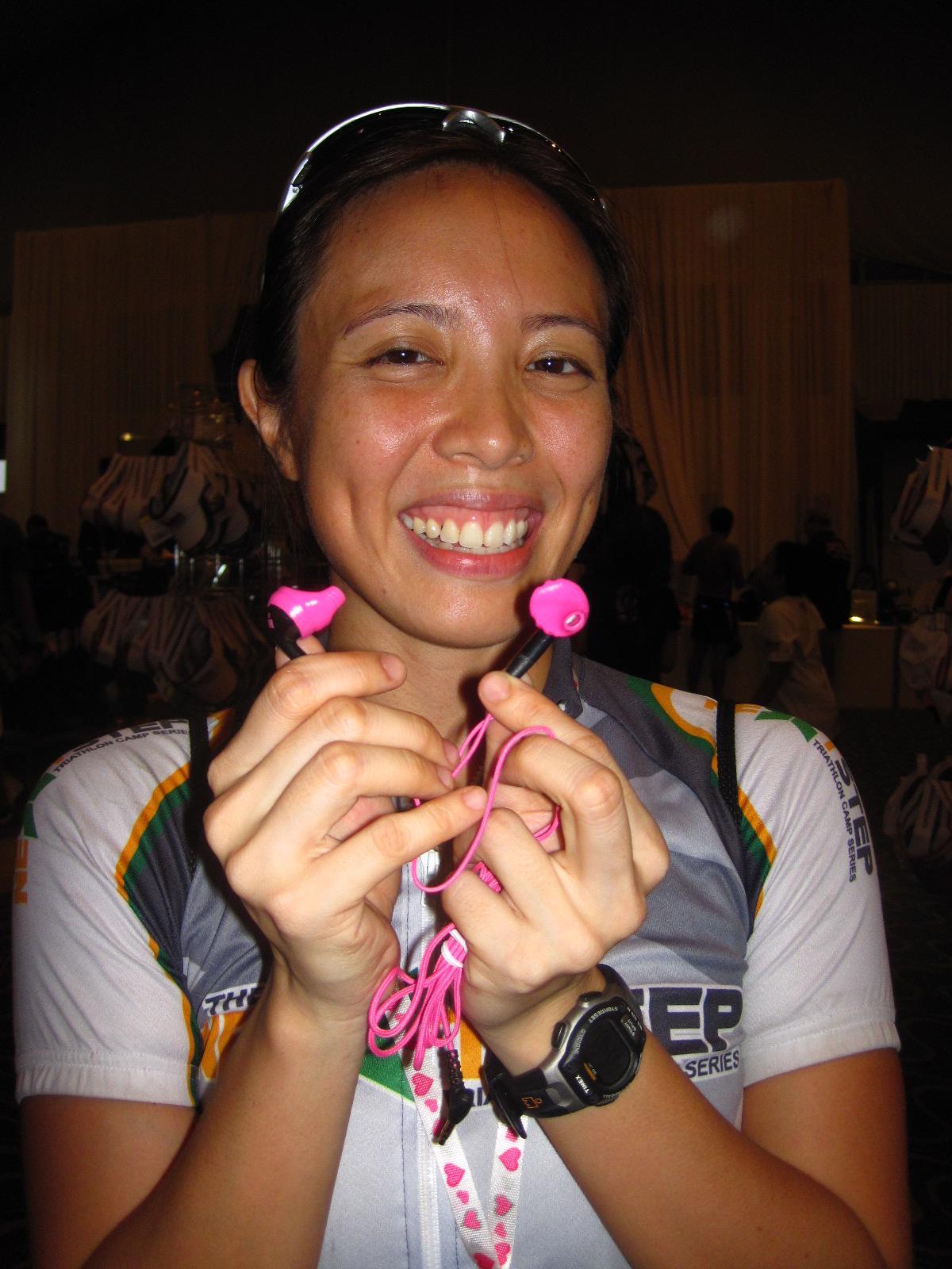 Ironman 70.3 Philippines: Kikay Yurbuds