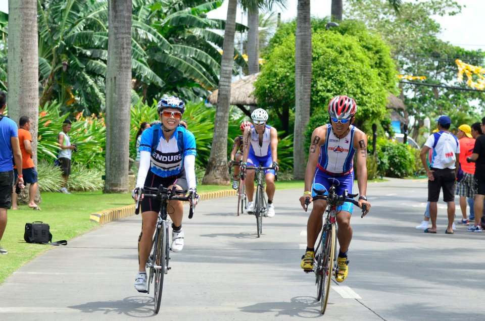 Ironman 70.3 Philippines: heading in