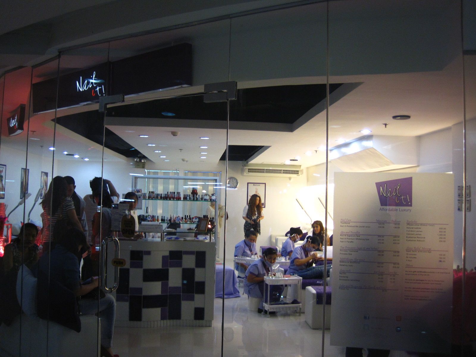 Nail It! Alphaland store opening: