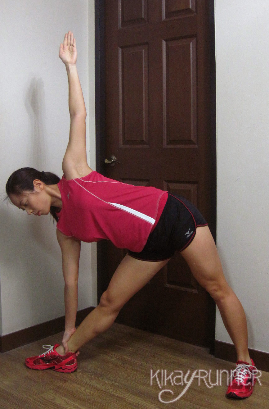 8 Great Post-Race Stretches: Triangle