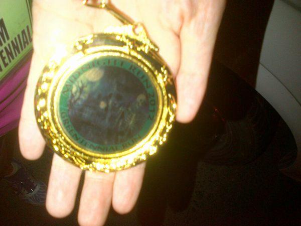 Midnight Run 2012: Creepy Medal