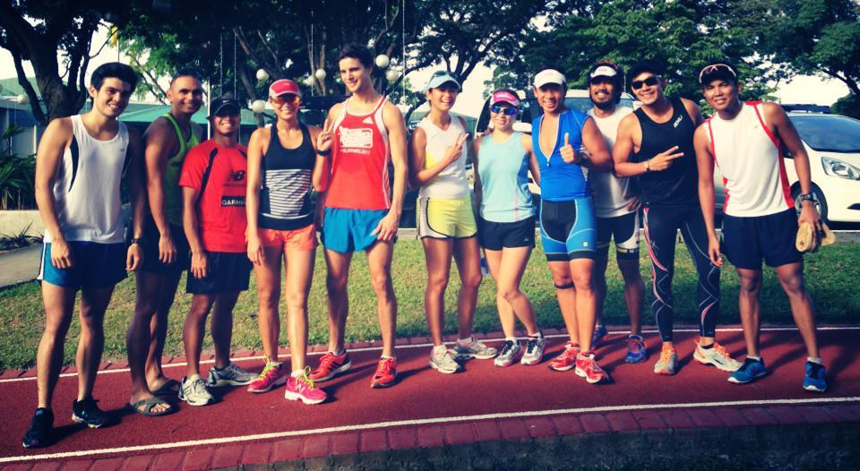 Kuya Kim Atienza's motley running crew