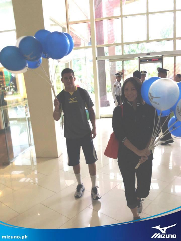 Mizuno Athletes Tour at Abreeza Davao