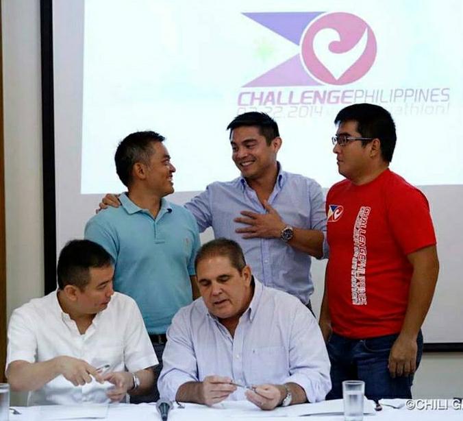 Challenge Philippines press tour