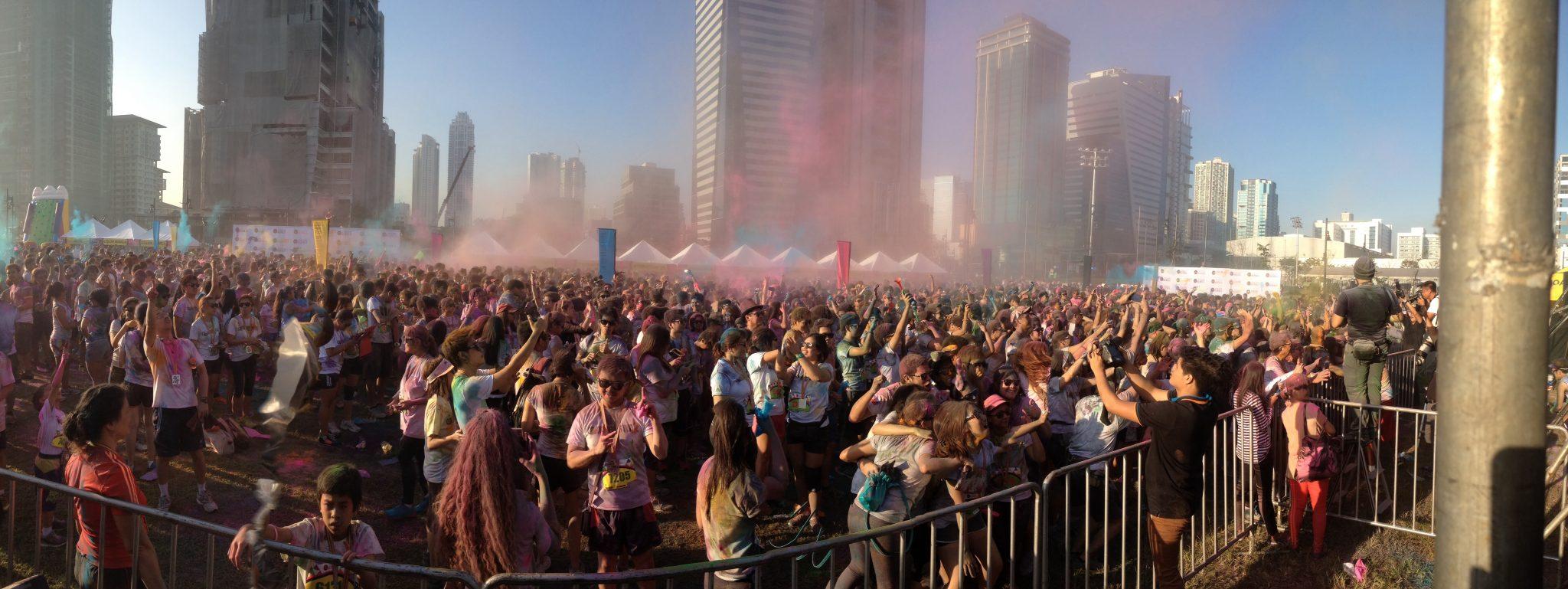 Color Manila Run 2014