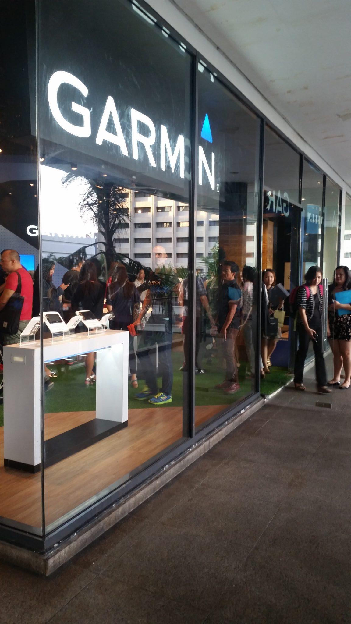 Garmin Concept Store PH launch