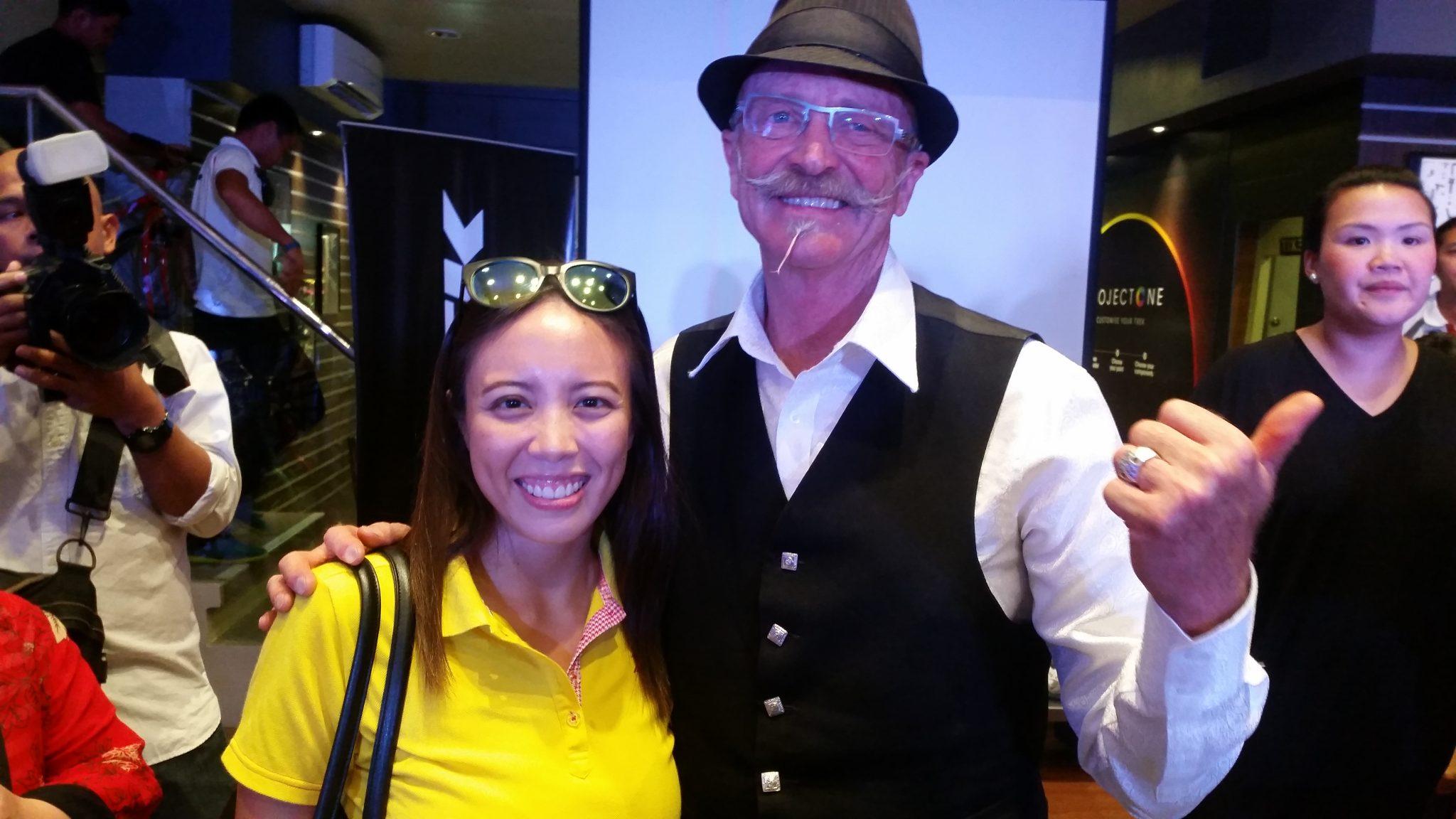 Gary Fisher in Manila