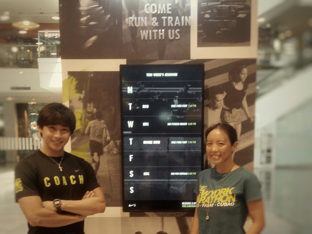 Nike Run Club Gear Up