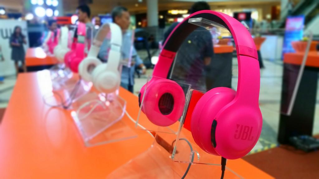 JBL-Harman headphones launch