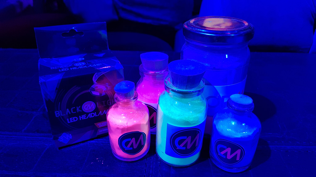 Color Manila Blacklight Run launch